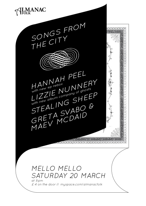 Songs from the City poster